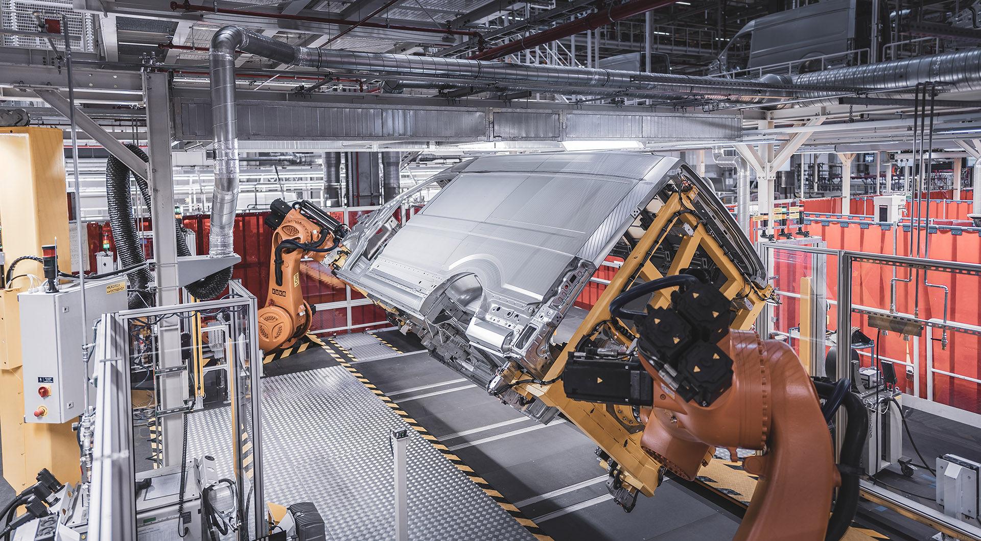 We Wrześni ruszyła seryjna produkcja elektrycznego Volkswagena e-Craftera