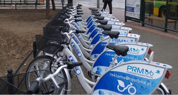 W poniedziałek rusza nowy sezon Poznańskiego Roweru Miejskiego