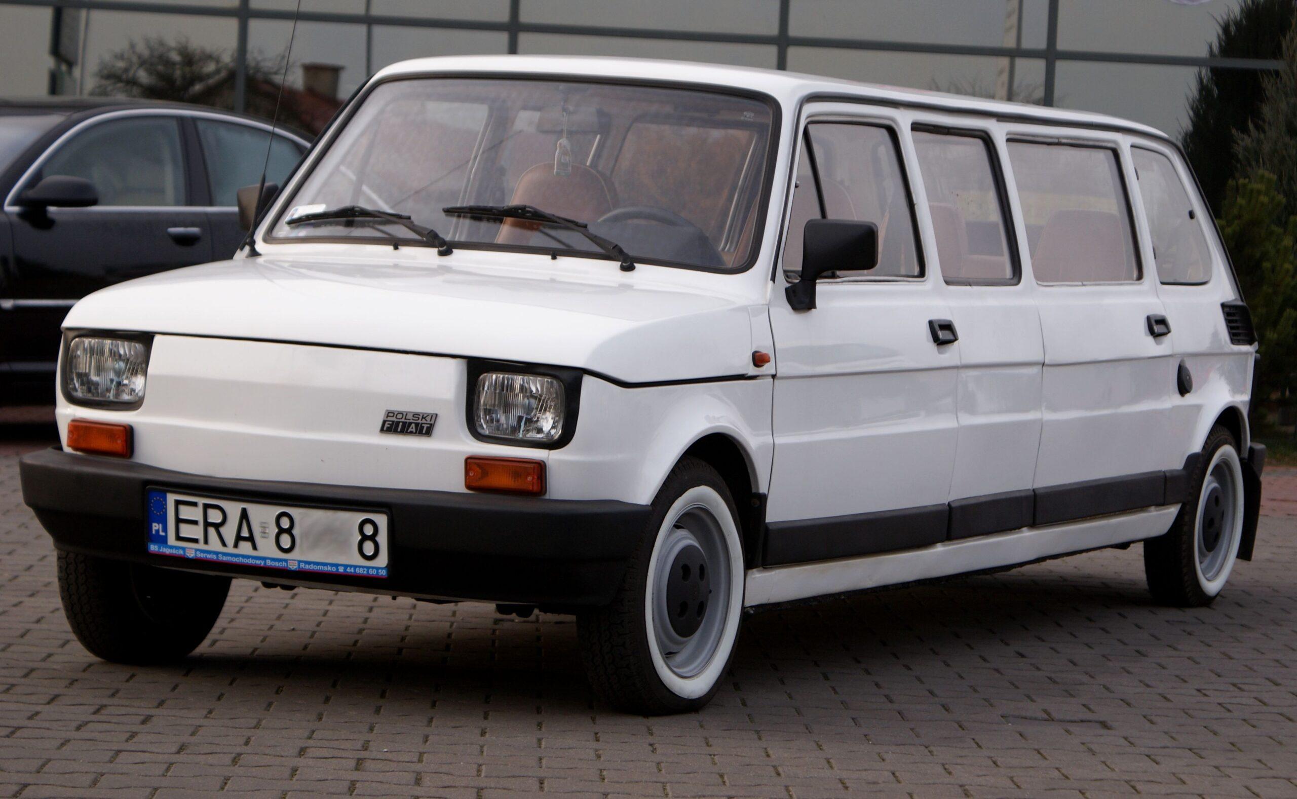 Legenda polskiej motoryzacji w nowej wersji. Fiat 126p stał się… limuzyną