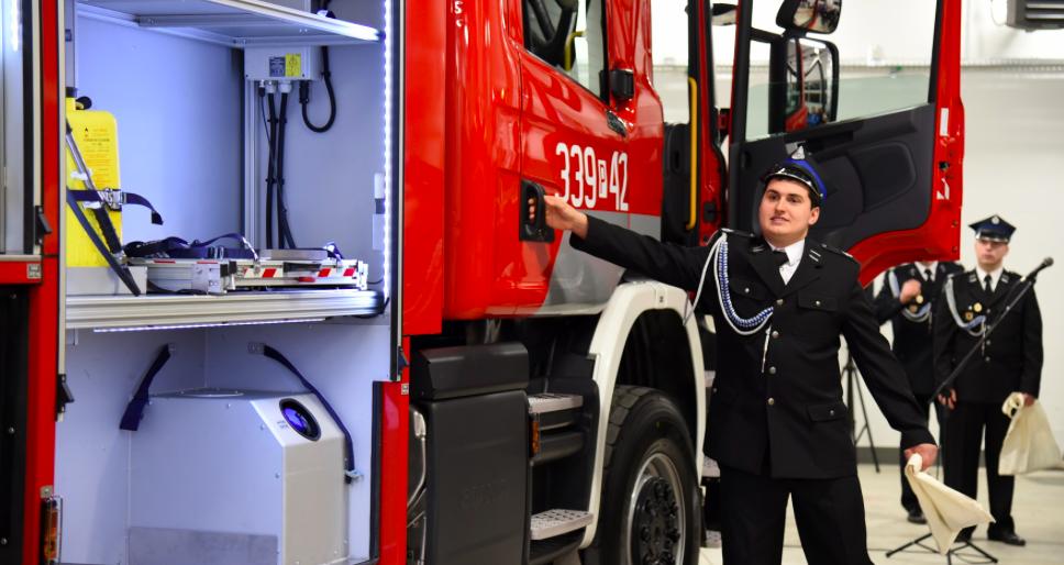Miasto dołożyło 0,5 mln zł na nowy wóz strażacki