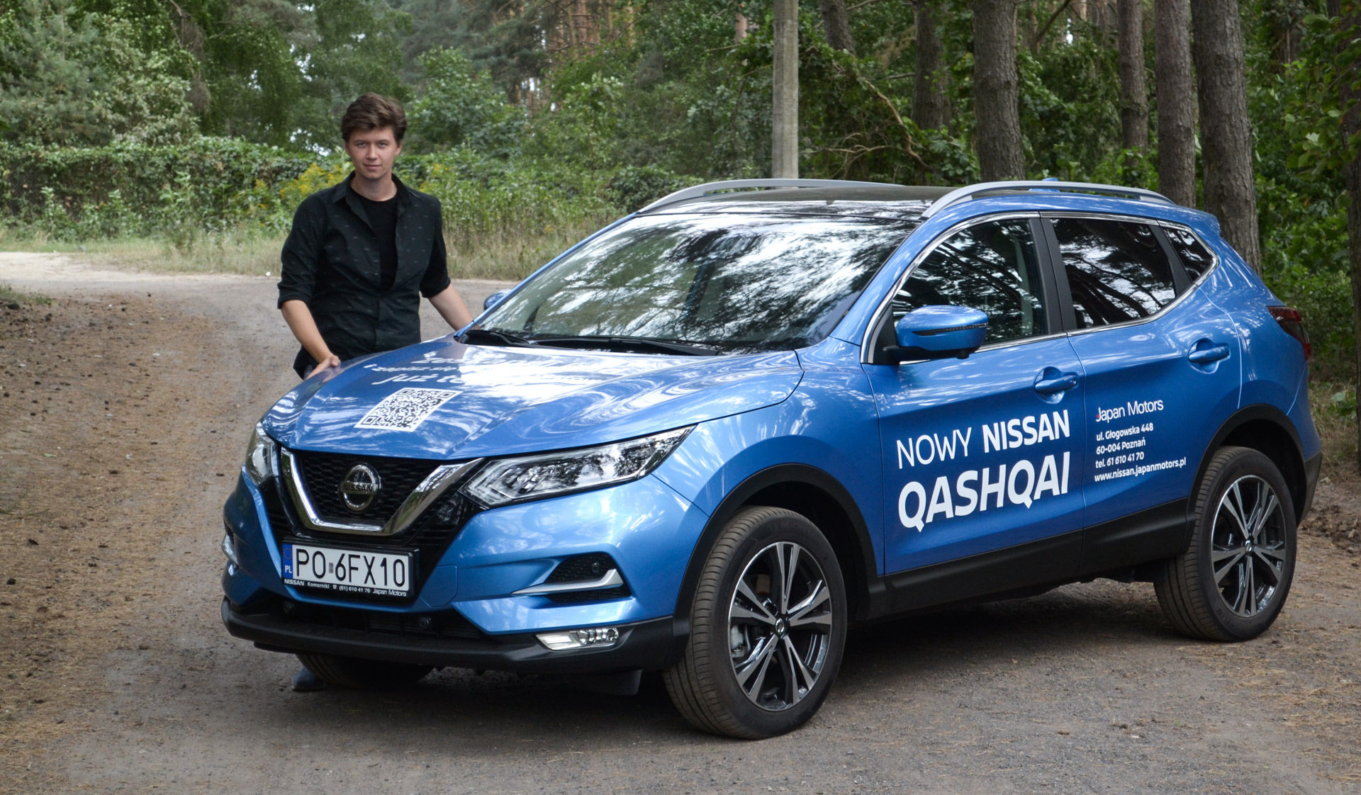 Nissan Qashqai, czyli jak to jest z tymi wyższymi samochodami