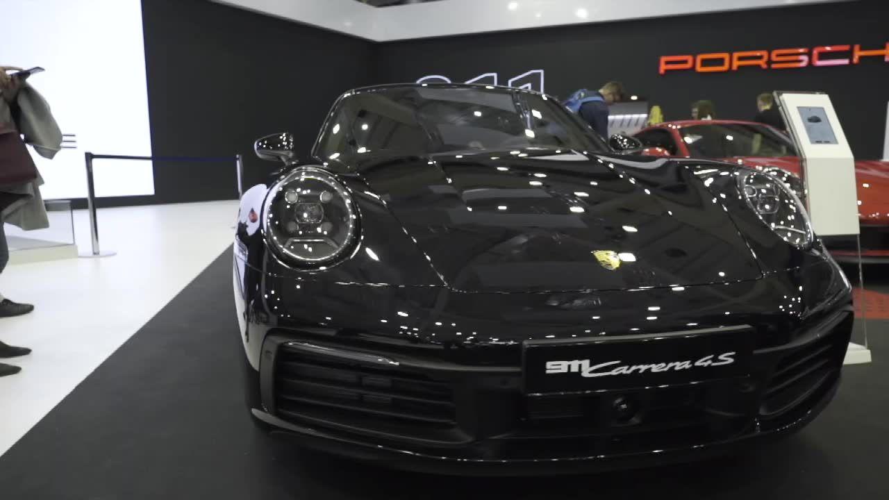 Porsche 911 w nowej wersji, czyli powrót legendarnego samochodu na targach Poznań Motor Show