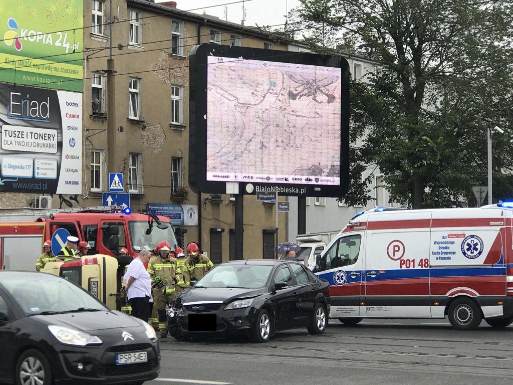 Śmiertelne potrącenie na ul. Głogowskiej