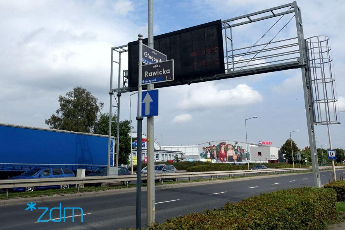 Od poniedziałku remont na ul. Głogowskiej