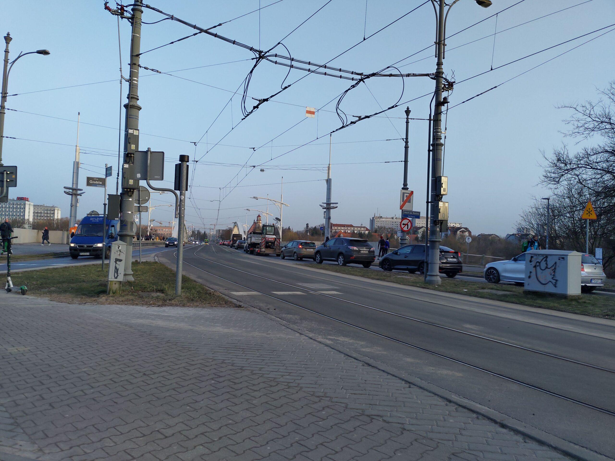 Korek w rejonie ul. Jana Pawła II, Kórnickiej i Kazimierza Wielkiego
