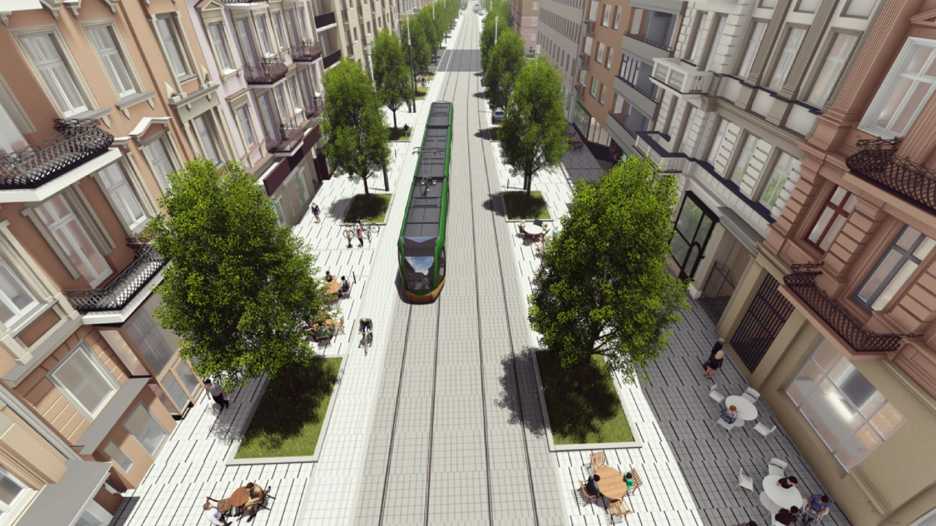 Miasto otrzymało ekspertyzę dotyczącą budowy trasy tramwajowej na ul. Ratajczaka