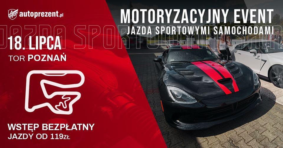 Event motoryzacyjny na torze Poznań
