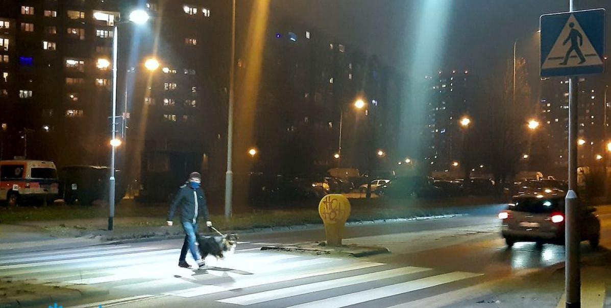 Poznań doświetla kolejne przejścia dla pieszych