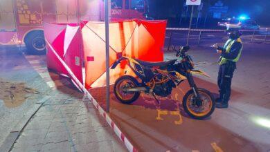 Tragiczny wypadek przy moście Rocha. Nie żyje motocyklista