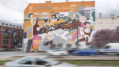 VW Poznań stworzył nowy mural