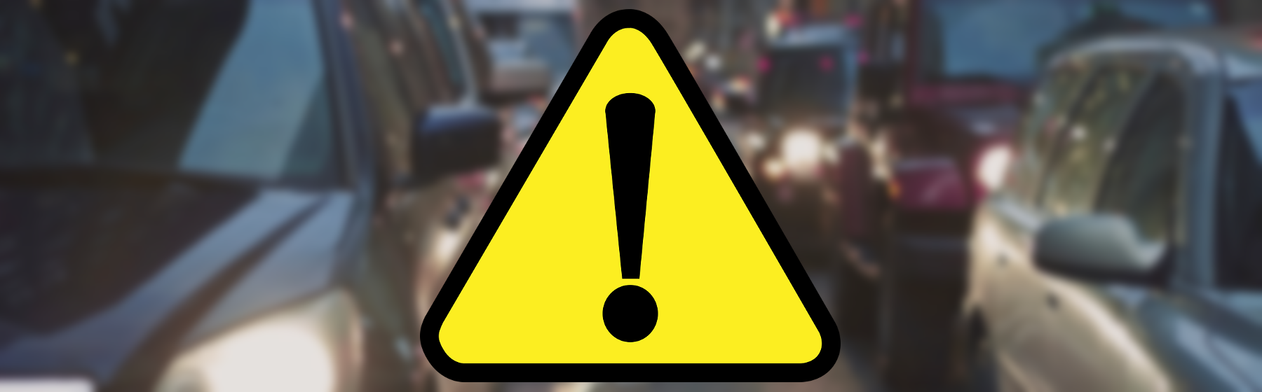 Wypadek na trasie katowickiej, droga zablokowana (Aktualizacja)