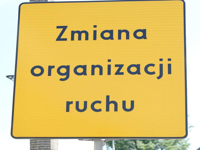 Zmiany w organizacji ruchu na skrzyżowaniu ul. Ratajczaka, Ogrodowej i Powstańców Wielkopolskich