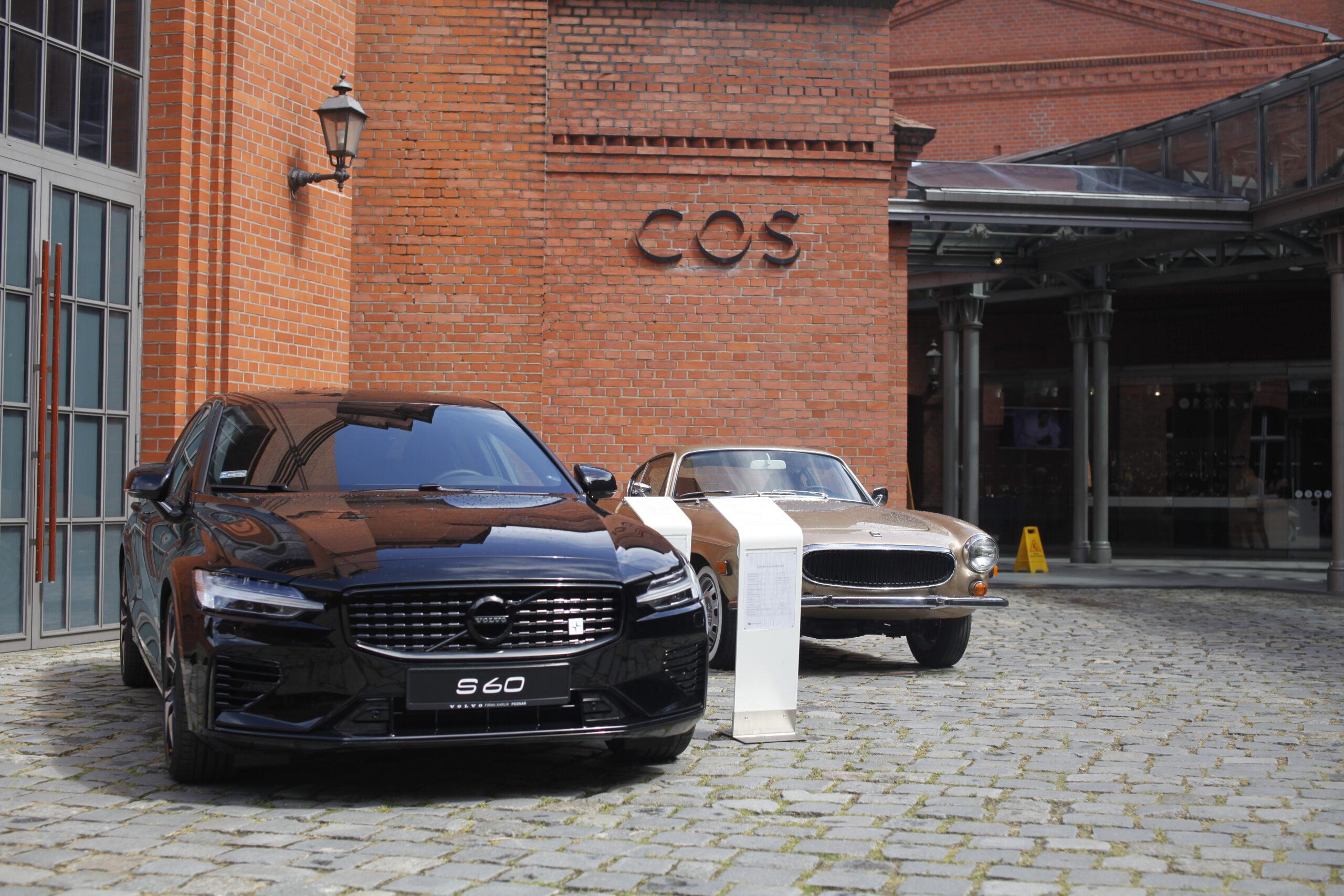 Dwa wyjątkowe modele Volvo stanęły na wystawie w Starym Browarze
