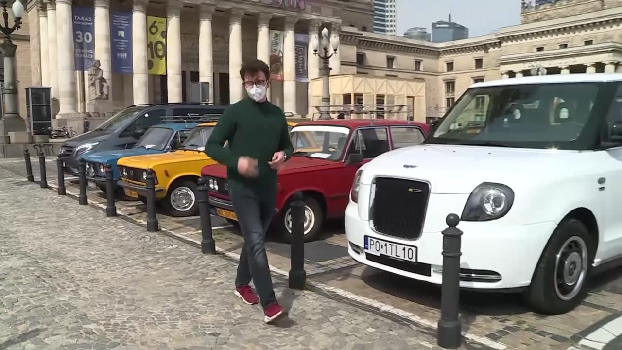 Poznaniak wprowadza Angielskie taksówki do Polski. Będą elektryczne.