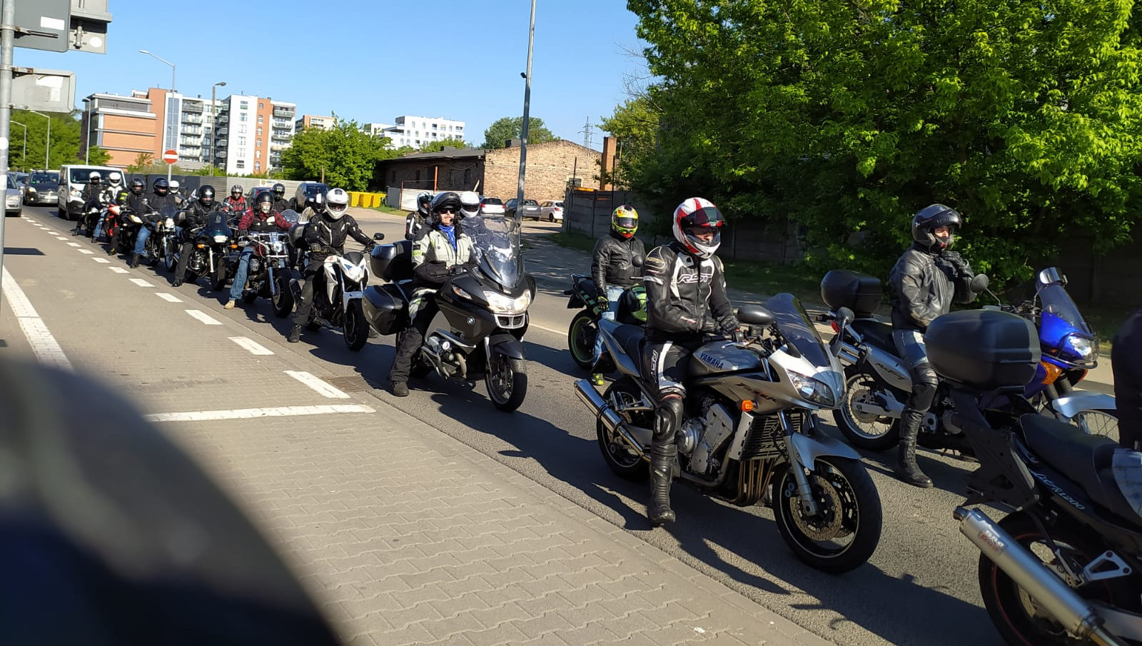 Z Poznania wyruszył 2. Motocyklowy Rajd Weteranów
