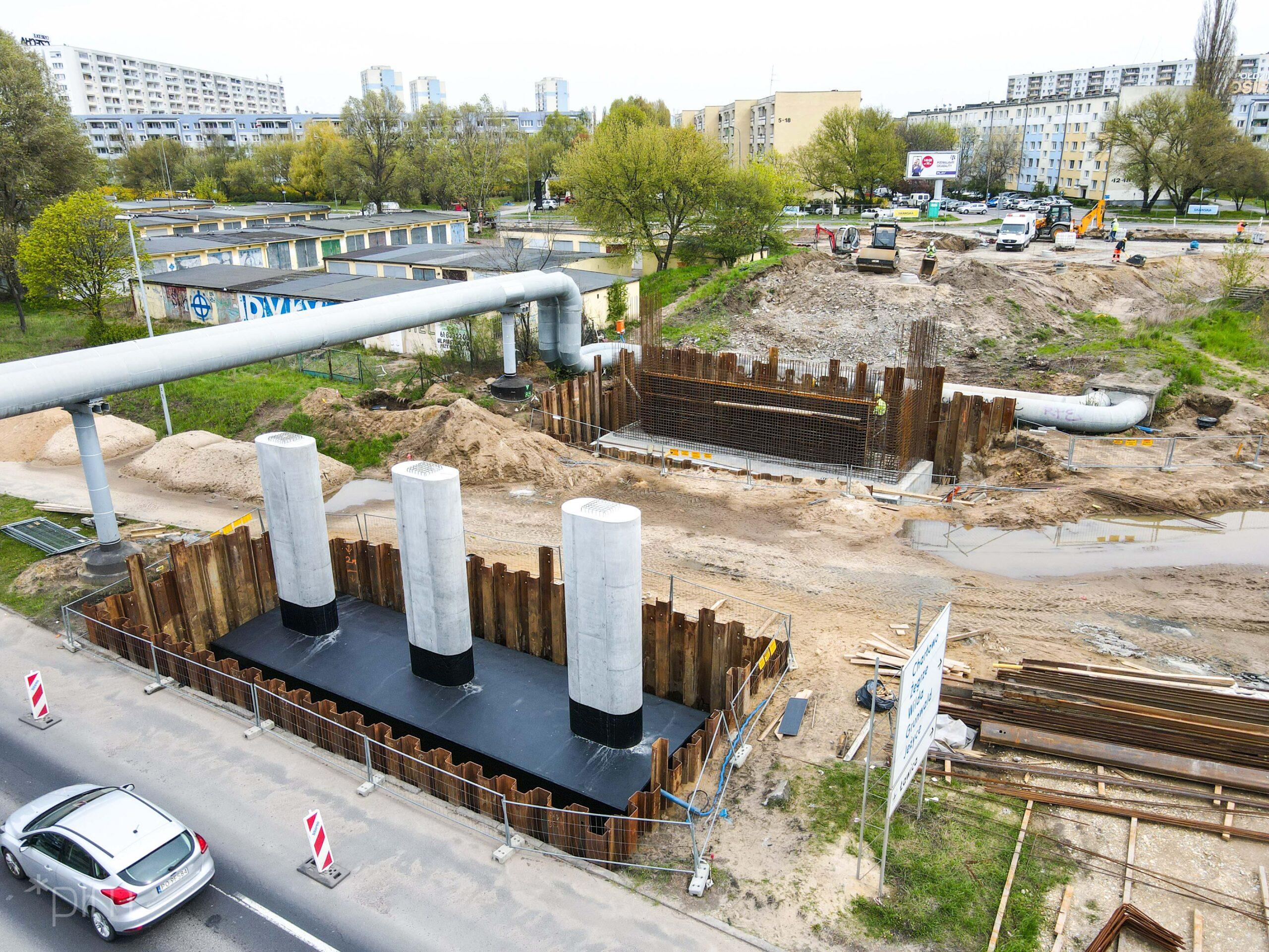 Budowa wiaduktu na ul. Kurlandzkiej. Obiekt będzie gotowy jeszcze w tym roku?