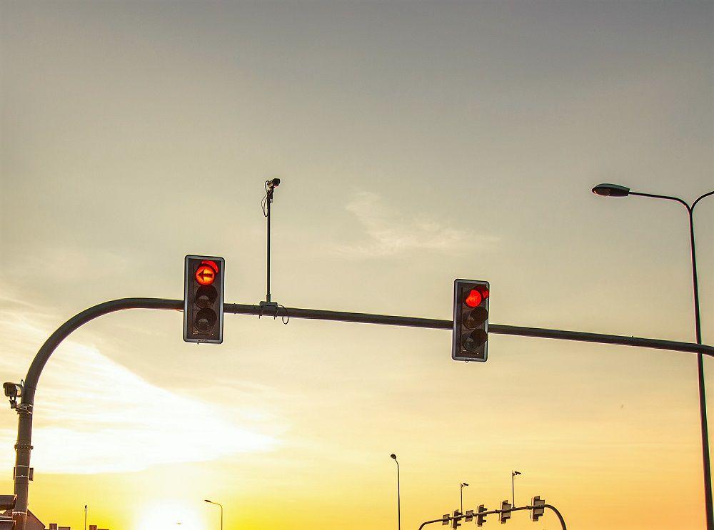 Awaria sygnalizacji świetlnej na skrzyżowaniu ul. Przybyszewskiego i Marcelińskiej
