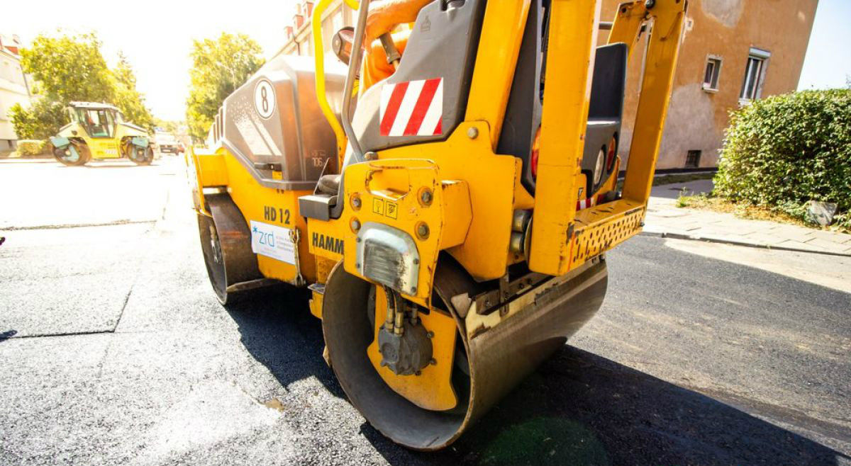 Środowe prace drogowe na ulicach Poznania
