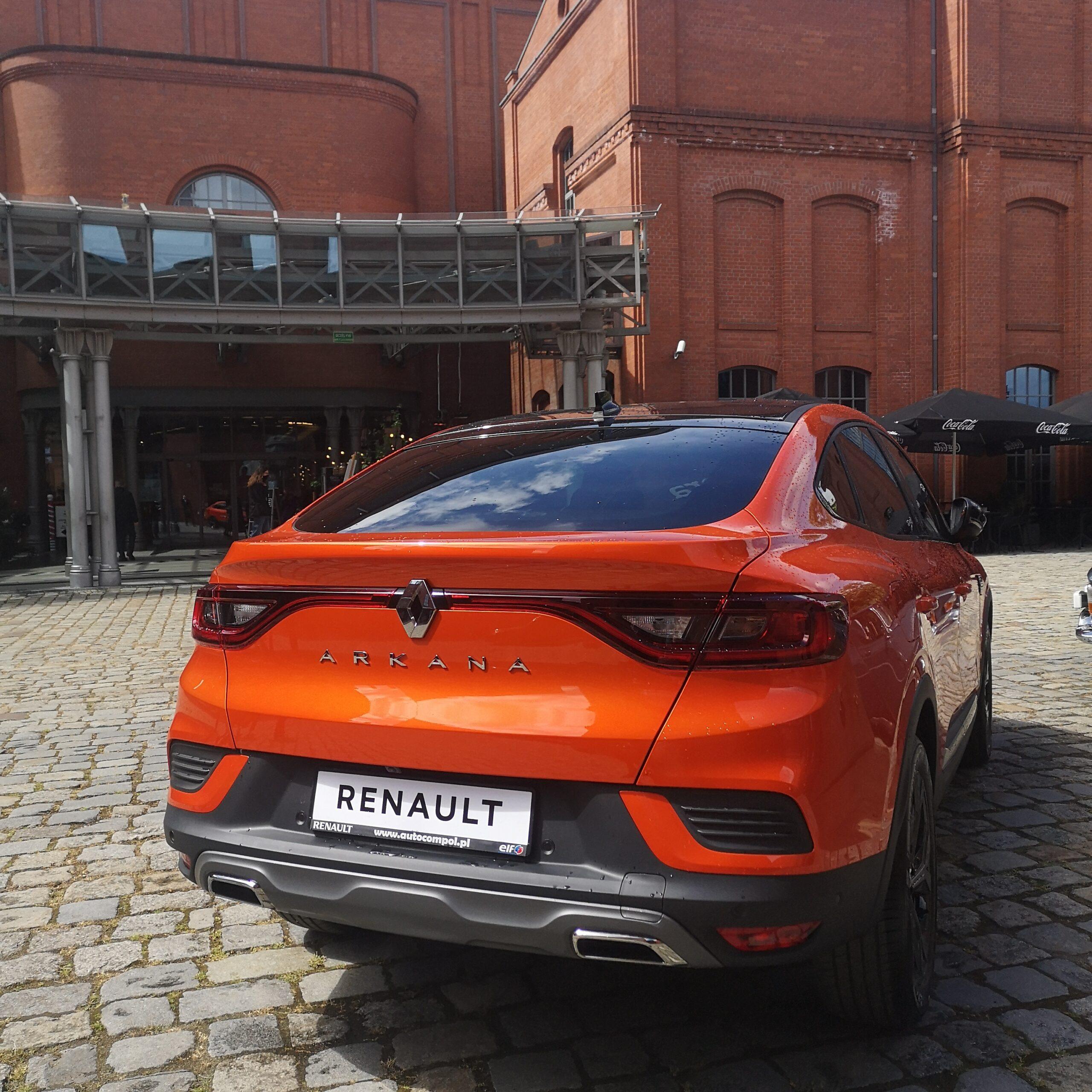 Przestronny i sportowy SUV- Nowe Renault Arkana już od 849 zł / miesiąc.