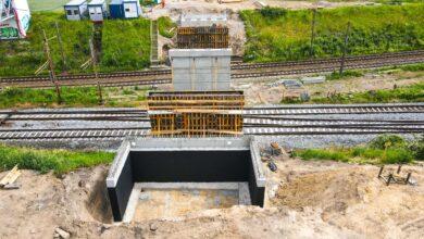 Na jakim etapie jest budowa wiaduktu w ciągu ul. Gołężyckiej?