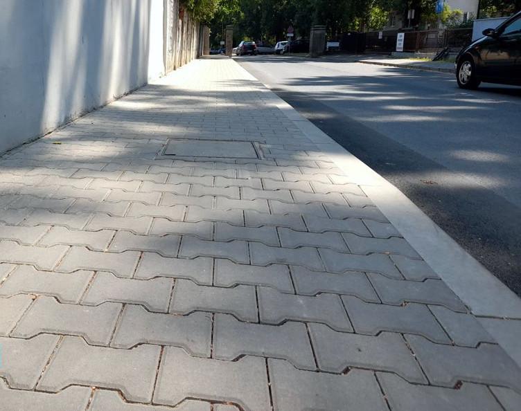 Wygodniej dla pieszych i kierowców na kolejnych ulicach Naramowic