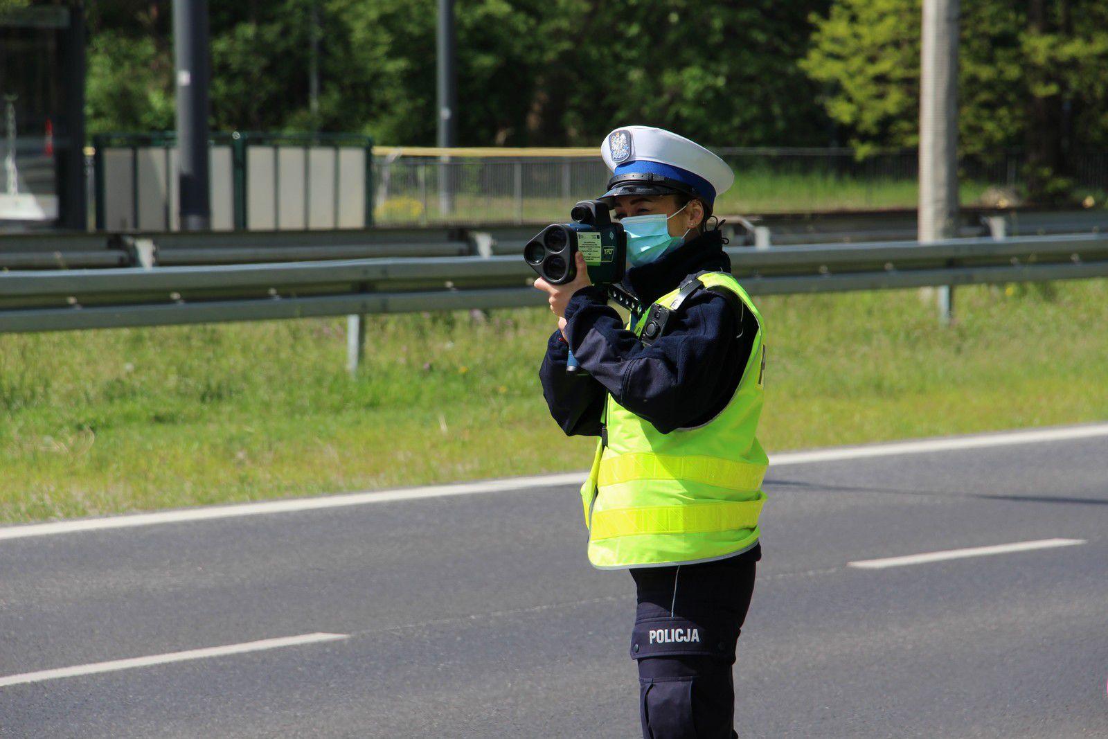 """Trwa ogólnopolska akcja policji """"Kaskadowy pomiar prędkości"""""""