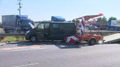 Wstępne ustalenia policji co do trzeźwości sprawcy porannego wypadku w Kórniku