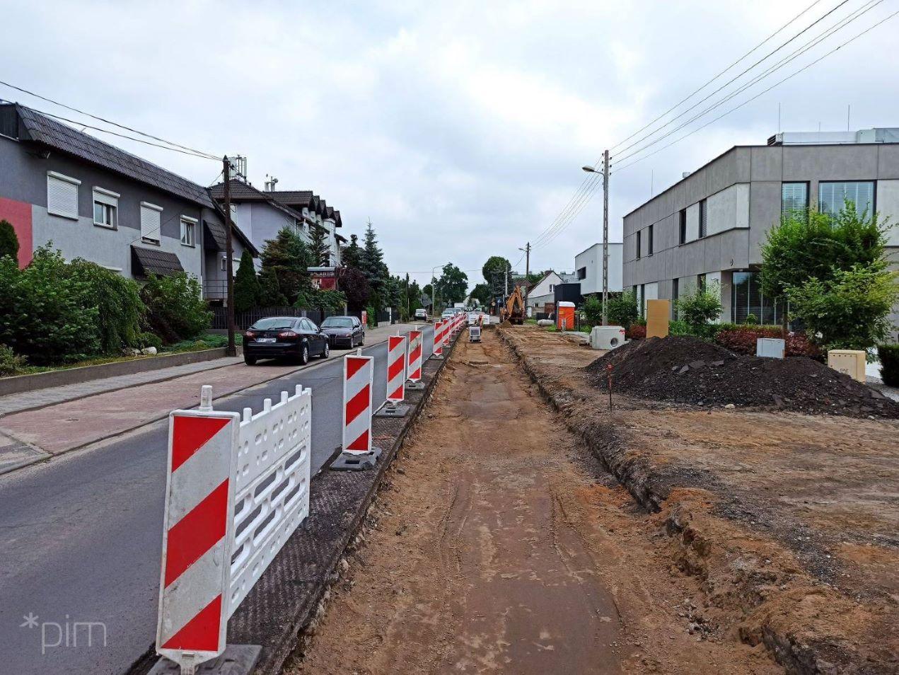 Budowa drogi rowerowej wzdłuż ul. Złotowskiej – od wtorku utrudnienia w ruchu