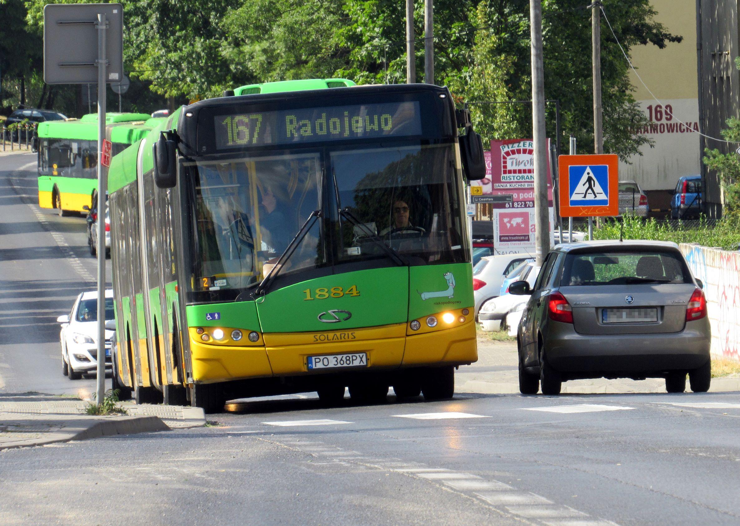 Zmiany w komunikacji autobusowej w rejonie budowanej trasy na Naramowicach