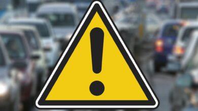 Samochód wpadł na torowisko na ul. Zamenhofa – ruch tramwajowy wstrzymany
