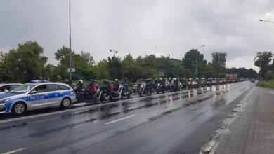 Przez Poznań przejechała parada prawie 1500 motocykli