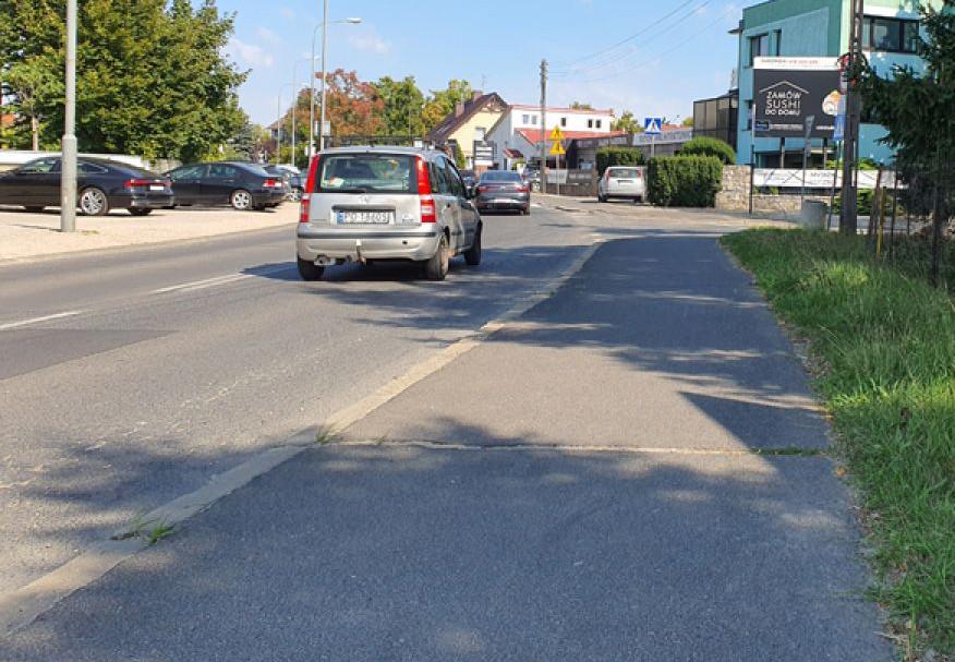 Na ul. Ługańskiej powstanie nowy ciąg pieszo-rowerowy