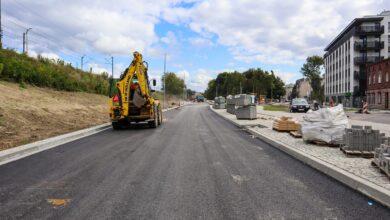 Budowa na ul. św. Wawrzyńca: Jak wygląda nowa droga i na jakim etapie są prace?