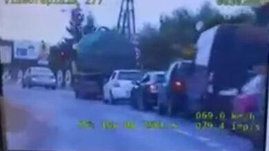 Czołowe zderzenie pojazdów na moście w Rogalinku