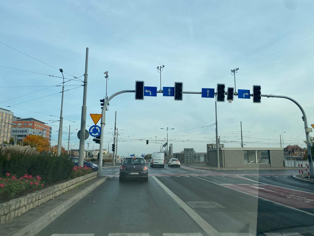Nie działa sygnalizacja świetlna na Rondzie Kaponiera