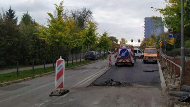 By było bezpieczniej – kolejny etap prac na skrzyżowaniu ul. Hetmańskiej i Dmowskiego